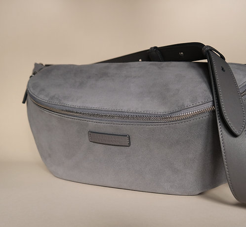 HIP BAG maxi fumo - silver