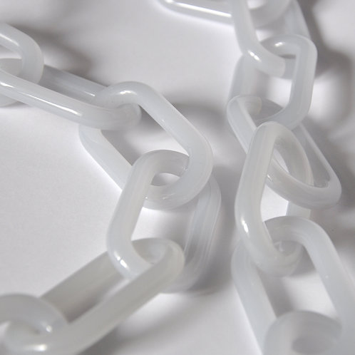 ACRYL CHAIN - Lecce ice white