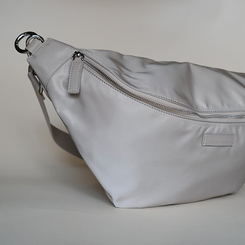 HIP BAG NYLON maxi cream