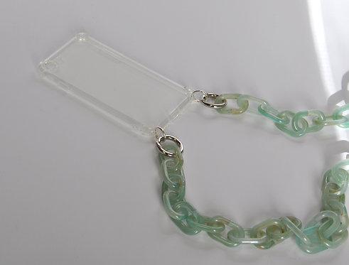 PHONE NECKLACE - turquoise / 3in1 (=Smartphonekette, Halskette und Gürtel)