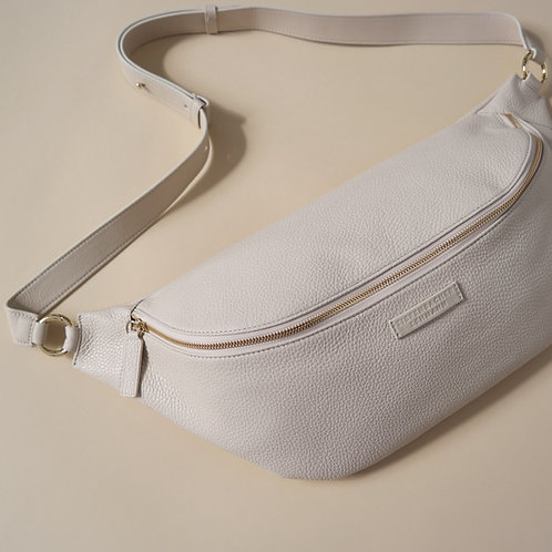 HIP BAG maxi cream - light gold