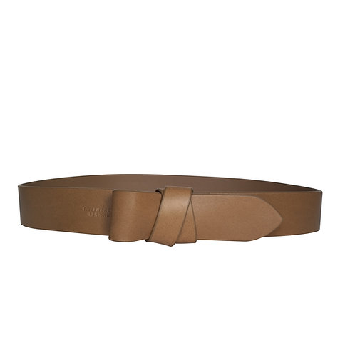 BELT bow - taupe