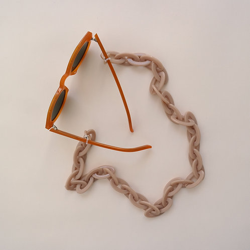 GLASSES CHAIN - JANE beige
