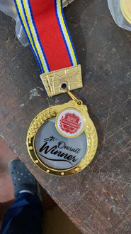 Overall winners medal during SSB Edition 4