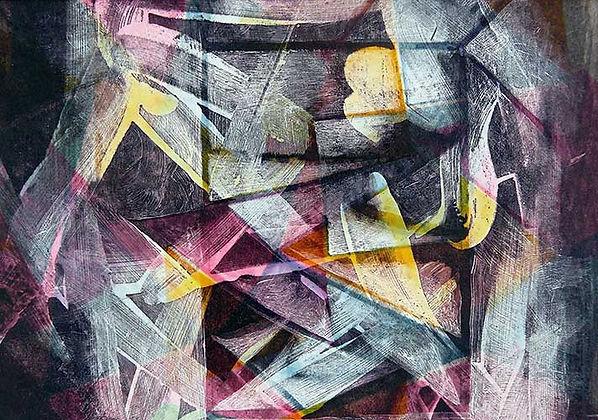 François Bourgeois | Artiste Peintre Photographe | Peinture: Abstrait 11