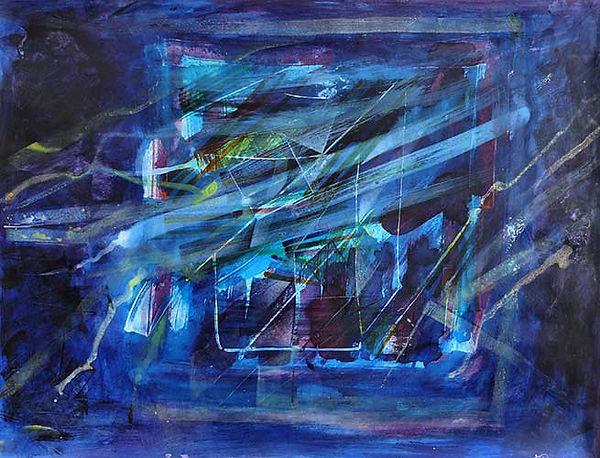 François Bourgeois | Artiste Peintre Photographe | Peinture: Abstrait 9