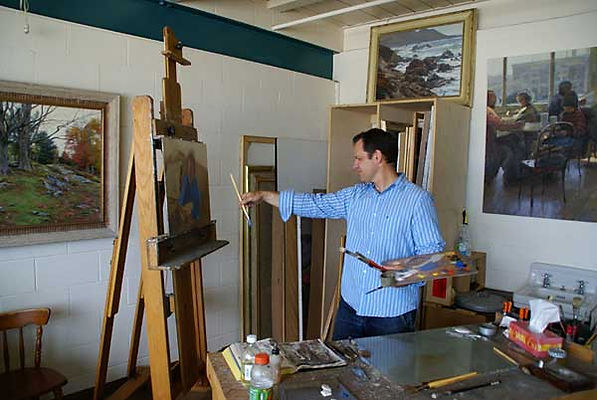 Tom Hughes, plein air painting instructor