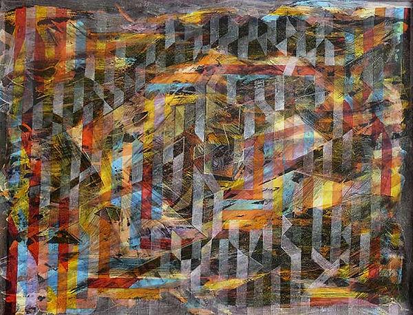 François Bourgeois | Artiste Peintre Photographe | Peinture: Abstrait 2