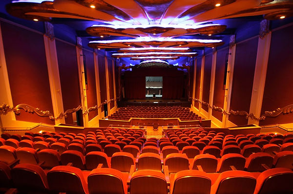 Empress Theatre interior, Vallejo CA