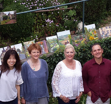 Plein Air Paintingwith Tom Hughes in France