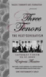Three Tenors concert Empress Thatre