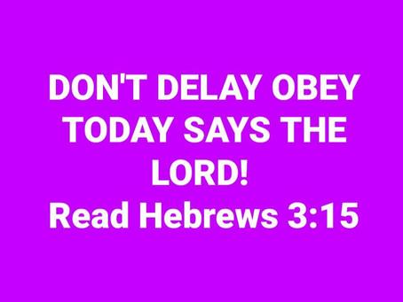 Prophetic Word 10/10/2020