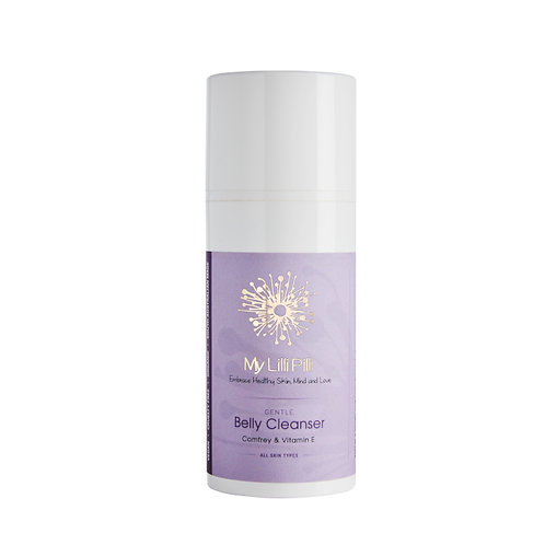 GENTLE Belly Cleanser with Vitamin E