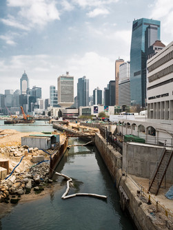 Redevelopment of the waterfront in Hong Kong