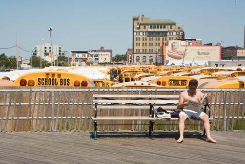 Coney Island, New York. Editorial photography by Alasdair Jardine