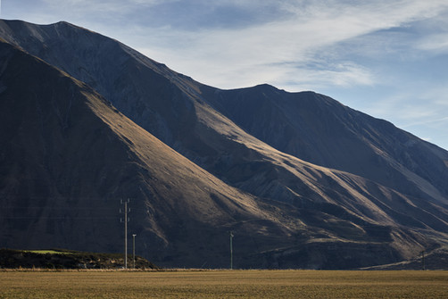 Foothills of the Southern Alps near Lake Coleridge