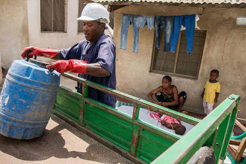Faecal Sludge Management in Dar es Salaam, Tanzania. Documentary photography by Alasdair Jardine