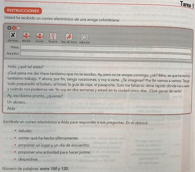 Expresión E Interacción Escritas Dele B1 Tarea 1 Ana