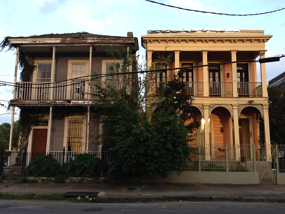 Two homes in NOLA
