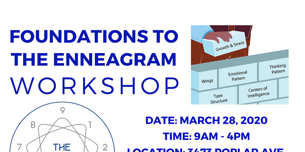 POSTPONED - Foundations To The Enneagram - March