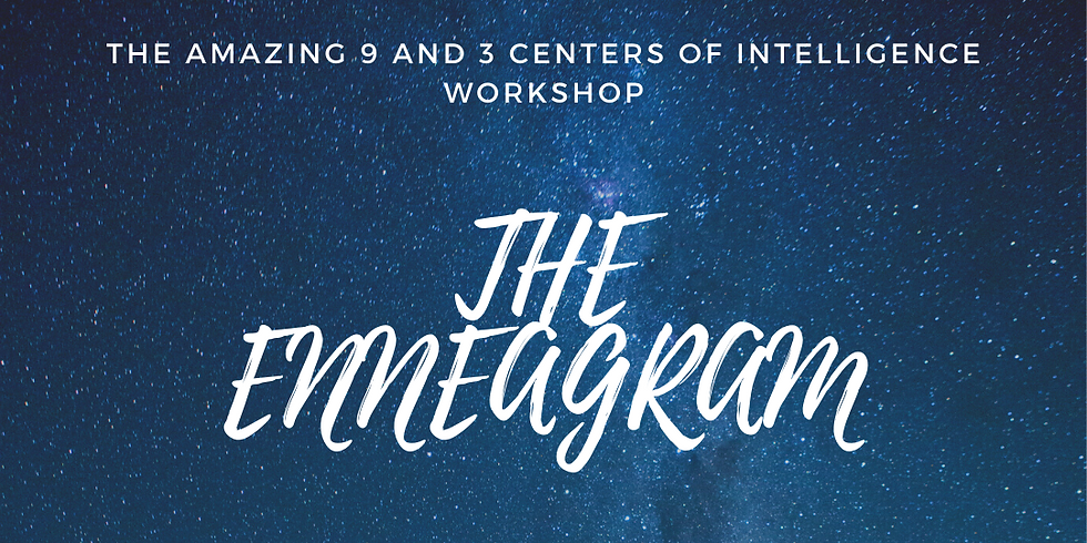 Relating To The Amazing 9 and 3 Centers of Intelligence Workshop