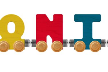 Maple Train Letters