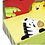 Thumbnail: Sunny Safari Hand Painted Step Stool With Storage