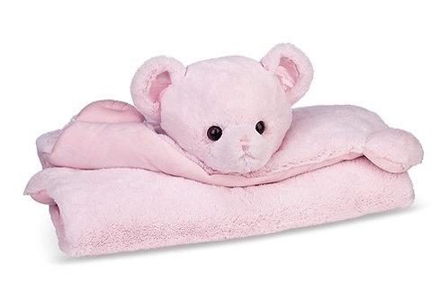 Bearington Baby Huggy Bear Belly Blanket