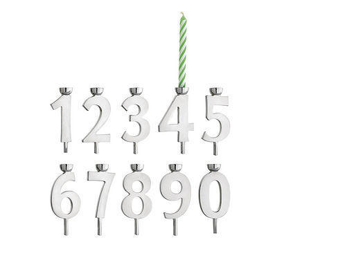 Reed & Barton Lets Celebrate Candle Stick Holders