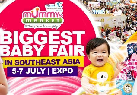 Kendamil @ Mummies Market 5-7 July Singapore Expo Hall 5