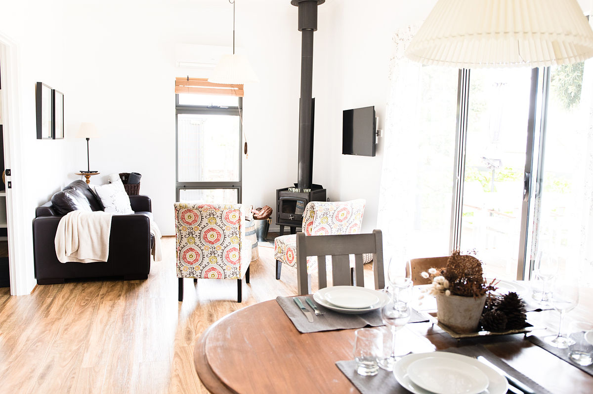 Living Area - RELISH Cottage