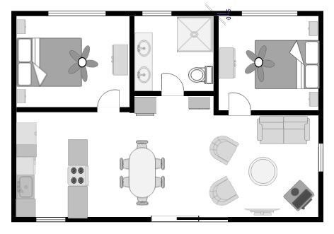 Floor Plan - RELISH Cottage