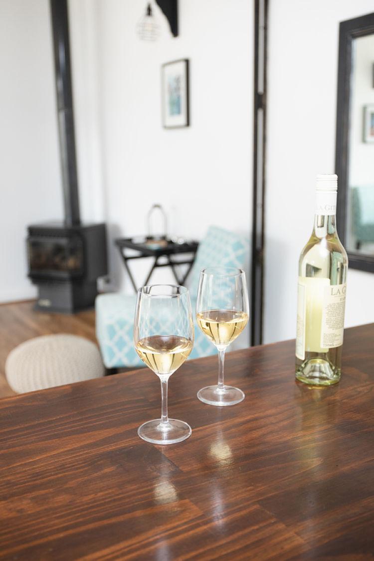 White Wine on Kitchen Counter - PONDER C