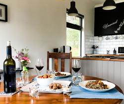 Dinner - UNWIND Cottage