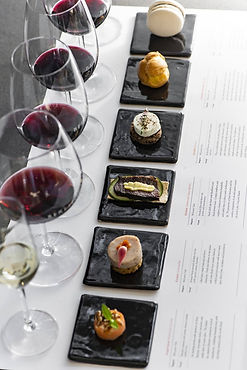 Beresford Wines - Matched food tasting e