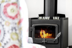 Combustion heater - RELISH Cottage