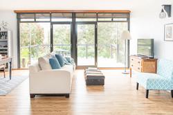 Living Area - PONDER Cottage