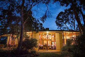 Woodstock Coterie - restaurant at dusk.j