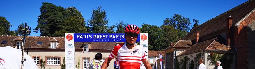 2019年完成來回法國巴黎----布雷斯特的限時耐力賽