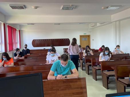巴尼亚卢卡大学孔子学院成功举办上半年的HSK考试