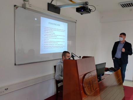 Професор Драшко Гајић одржао предавање на тему социјалне политике Кине
