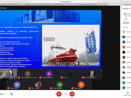 Одржано предавање Јелене Стјепчевић о поморској традицији Кине и утицају на савремене токове