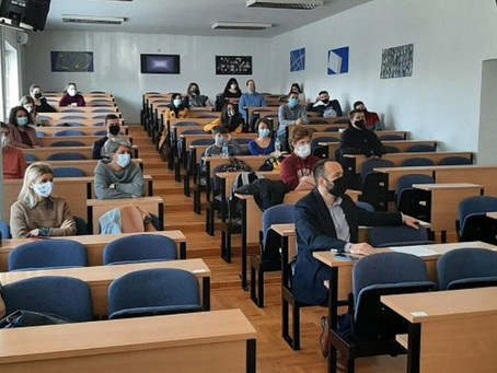 Tatjana Juric Gave a Lecture on the Japanese Expansion in East Asia