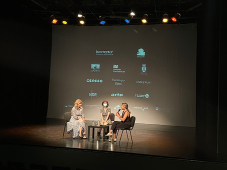 参加中文电影《圣诞快乐,义乌》(来自塞尔维亚导演Mladen Kovačević)的放映会及讨论会,由Cinema Parallels主办