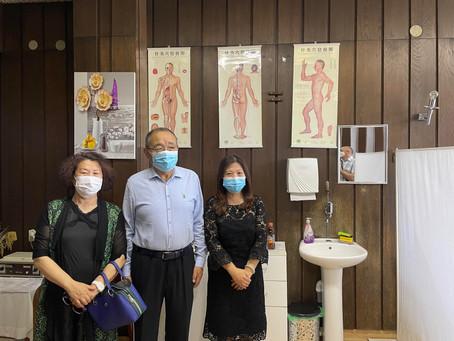 巴尼亚卢卡大学孔子学院代表赴图兹拉拜访中医医生