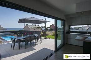 Villa avec vue mer à vendre à Doelan