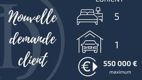 Recherche Maison 5 chambres secteur Lorient