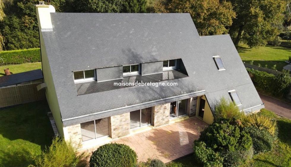Maison contemporaine à vendre à MOELAN SUR MER bretagne sud | maisondebretagne.com
