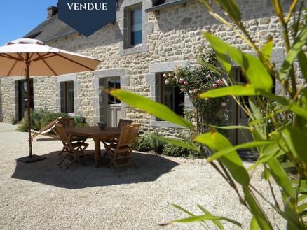 Maison de charme à Côtes d'armor vendue par Maisons de Bretagne , agence immobilière en Morbihan