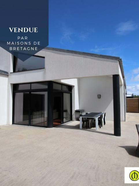 Maison contemporaine à Guidel Plages Morbihan Bretagne Sud
